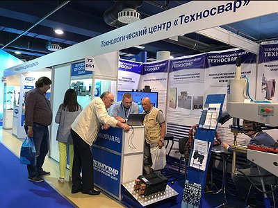 """Technosvar"" Technology Centre took part in the 20th internatioan exhibition of equipment, instruments and tools for the metalworking industry ""Metalloobrabotka"""