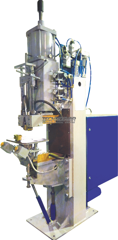 MRT-4001 MACHINE FOR PROJECTION RESISTANCE WELDING OF EMBEDDED PARTS IN T-BARS