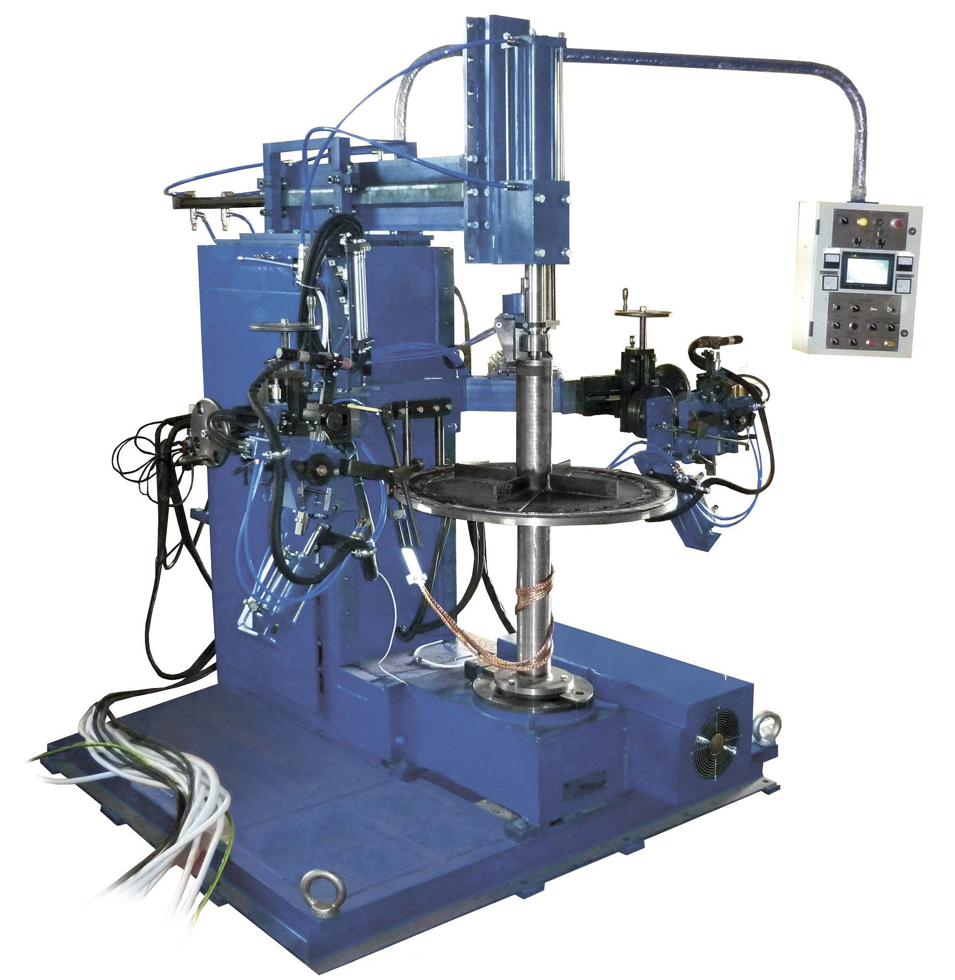ADG-507 ARMATURE WINDINGS AND COMMUTATOR WELDING MACHINE